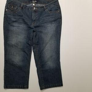 Apt. 9 women's crop jeans 16W